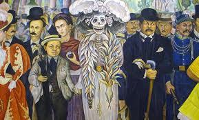 Diego Rivera y la Catrina Mexicana